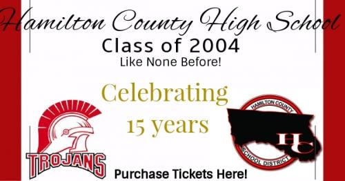 Hamilton County High School C/O 2004!